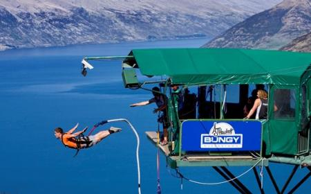 AJ Hackett Bungy The Ledge Bungy Queenstown