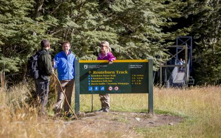 Tourism Conservation Building Strong Partnershps The Routeburn Track today media